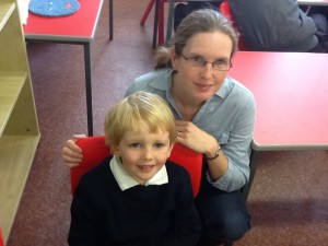 Noah and Mum