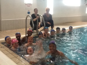 At the Swimming Pool with Ms. Coghlan and Ms. O'Sullivan
